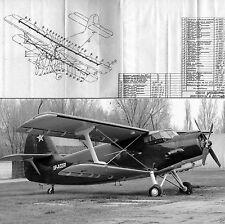 Antonov An-2 AN2 Biplane Archive Manuals Set technical HISTORIC PERIOD DETAILS