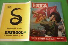 EPOCA1954 Spéciale Trieste Italie+Audrey Hepburn+Federica De Grèce + Caso