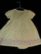 NWT Vintage Gymboree NEW SPRING DRESS size 12-18 month YELLOW RARE