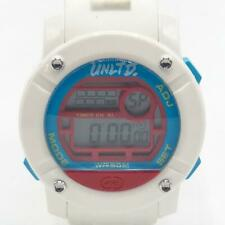 Marc Ecko Unltd White Silicone Parlay Large Face Digital Watch