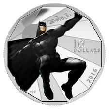 2016 CANADA BATMAN V SUPERMAN DAWN OF JUSTICE 10$ 1/2oz. PURE SILVER COIN