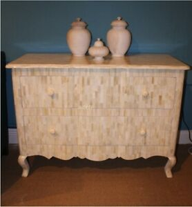 Handmade Bone Inlay Sideboard Buffets