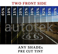 PreCut Film Front Two Door Windows Any Tint Shade % for Infiniti QX80 Glass