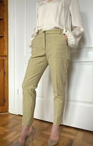 New Pinko Checked Trousers Size Size 4