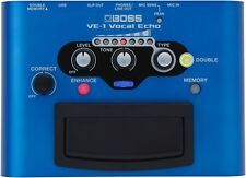 Boss VE-1 Vocal Echo Battery-powered Portable Vocal Processor New