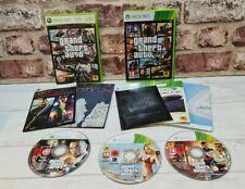 Grand Theft Auto 5 + Episodios De Liberty City Xbox 360-Incluye Mapas-Libre P&P