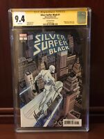 Silver Surfer Black #1 CGC 9.4 SS signed Mike Zeck Variant 1:100 Hidden Gem