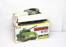Solido No 232 Tank Destroyer M10 In Its Original Box - Very Near Mint Vintage