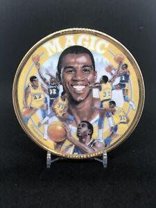 Magic Johnson Sports Impression Mini Plate 4 1/4