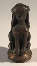 RARE ANCIENNE PETITE SCULPTURE Sphinx EN BRONZE