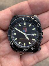 Diver Watch Military Vintage Marina Militare North Eagles Movement ETA Quartz