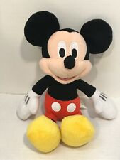 "New listing Disney Mickey Mouse 12"" Plush Stuffed Animal Toy Authentic Original"