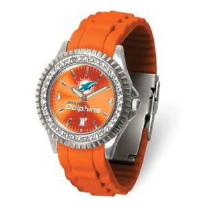 NFL Miami Dolphins Womens Sparkle Watch Style: XWL1244 $63.90