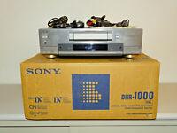 Sony DHR-1000 High-End DV-Recorder in OVP inkl. FB&BDA, 2 Jahre Garantie