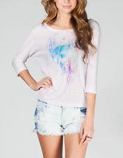 Roxy Mystic Wolf Womens Tee T-Shirt Size Medium BNWT