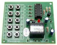 Digital 4 Digit Key Code Switch On-Off 5A relay with 12VDC Assembled Kit [FA422]