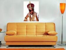 "Slick Rick 35""X25"" Inch Mosaic Wall Poster Hip Hop Rapper Rick The Ruler"