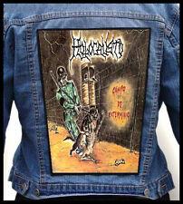 HOLOCAUSTO - Campo de Extermínio   --- Huge Jacket Back Patch Backpatch