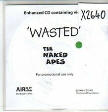(CS411) The Naked Apes, Wasted - 2003 DJ CD
