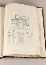 1835 | Carlo RANDONI | mathematics CLASSICAL orders | architecture | 15 PLATES