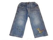 Salt and Pepper tolle Jeans Hose Gr. 80 mit Dino Motiv !!