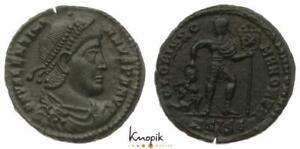 Römische Kaiserreich, Valentianius I., Kleinbronze (AE 3), Siscia, RIC 5b, 2,72g