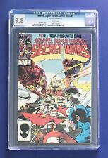SECRET WARS #9 • CGC 9.8 WP • Avengers, X-Men Spider-Man, Wolverine 1985 MARVEL
