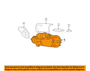 GM OEM-Starter Motor 10465065