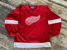 Detroit Red Wings Jersey Red Starter NHL Size XL Western Conference Hockey EUC