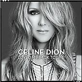 Celine Dion - Loved Me Back to Life (2013) CD Album Very Good used condition