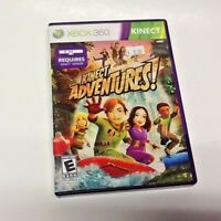 Kinect Adventures Microsoft Xbox 360 2010 COMPLETE TESTED AND WORKING