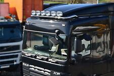 To Fit DAF XF 105 Space Cab Roof Light Bar + Jumbo Spots x6 + Slim LEDs x7