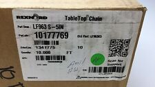 Rexnord Lf963 S 5in Rex Tabletop Conveyor Chain 5 In X 10ft Old Pn Lf963k5