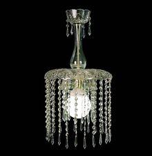 LAMPADARIO IN CRISTALLO CLASSICO A 1 LUCE COLL. BGA 306 DESIGN SWAROVSKY