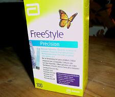 Freestyle Precision Blutzucker Teststreifen 100 Stück - NEU