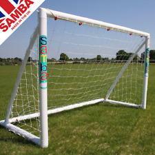 Samba 6 x 4ft Football Goals. Kids Garden Goal Post with Nets