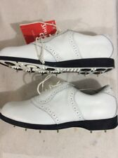 Spalding Metal Spike Golf Shoes Womans Size 7EEE