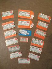 Vintage Betty Crocker Coupons Lot of 17 Expiration From 1983-1991