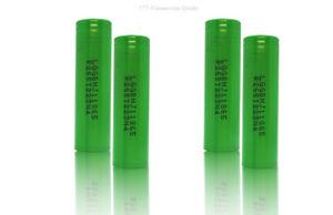 4 x LG INR18650MJ1 - 3500mAh 3,6V - 3,7V Lithium-Ionen-Akku 10A lose