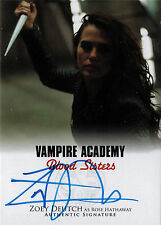 Vampire Academy Blood Sisters Autograph Card A-ZD2 Zoey Deutch as Rose Hathaway