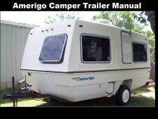 AMERIGO TRAILER RV OWNERS OPERATIONS MANUALs -310pgs for Camper Service & Repair