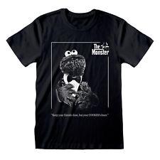 Sesame Street El Monstruo Camiseta Oficial Cookie Monster El Padrino Nuevo
