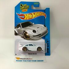 Porsche 993 Gt2 #27 * White * 2014 Hot Wheels * R1