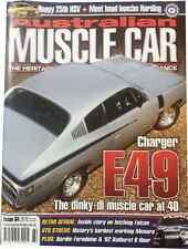 Australian Muscle Car Magazine Issue 64,Valiant Charger E49