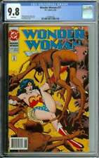 WONDER WOMAN #77 CGC 9.8 WHITE PAGES // MODERN AGE BRIAN BOLLAND COVER