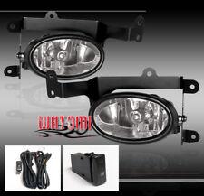06 07 08 HONDA CIVIC COUPE 2DR BUMPER DRIVING JDM CHROME FOG LIGHT LAMP W/SWITCH