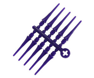 Cosmo Fit Point Plus 50 ct Soft Tip Points for Darts - 2ba - PURPLE