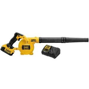 DEWALT DCE100M1 20V MAX Li-Ion Compact Jobsite Blower Kit