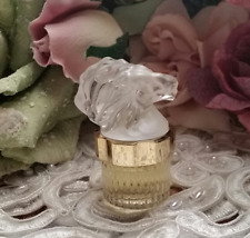 LALIQUE Perfume ~ LION ~ MASCOTS ~ 1998 Miniature ~ Limited Edition Collectable