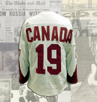 Paul Henderson Team Canada 1972 Summit Series Wool Replica Jersey Sizes S,M.L XL